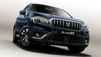 Suzuki S-Cross To Debut New Look In Paris