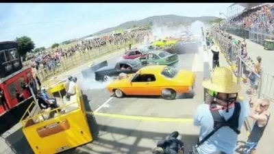 World Record For Largest Group Burnout Shattered At Summernats 28: Video