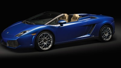 Lamborghini Gallardo LP 550-2 Goes Topless In LA