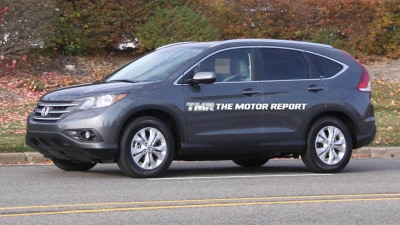 2012 Honda CR-V Spied Ahead Of LA Auto Show Launch