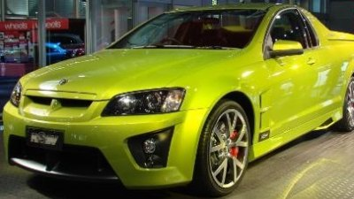 2008 HSV E-Series Maloo unveiled at Sydney Motor Show