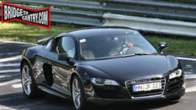2009 Audi R8 V10 Spotted Rocketing 'Round the 'Ring