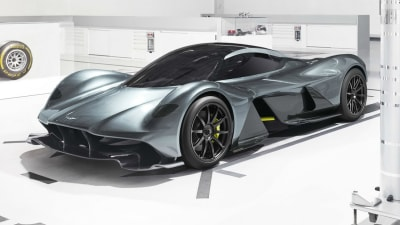 Aston Martin Red Bull AM-RB 001 Hypercar Officially Unveiled