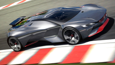 Peugeot's 652kW Vision Gran Turismo Supercar Concept Revealed