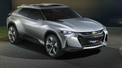 Chevrolet FNR-X Concept Unveiled At Shanghai Auto Show