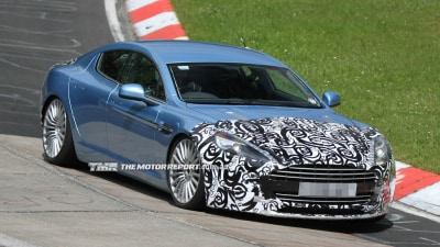 Is This The Aston Martin Rapide S?