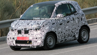 2014 Smart Fortwo Spied Testing