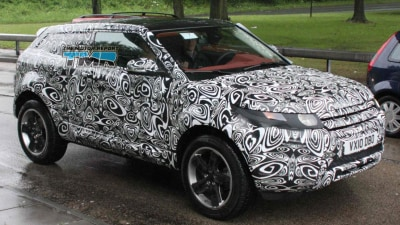 2011 Range Rover LRX Spied In Camouflaged Production Form