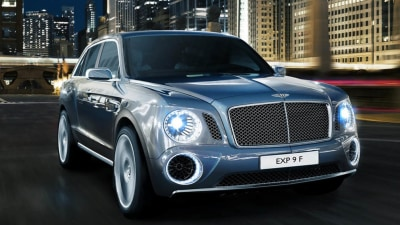 Revised Bentley EXP 9 F Concept Nearing Go-Ahead: Report
