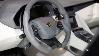 Lamborghini Estoque Interior Images Revealed