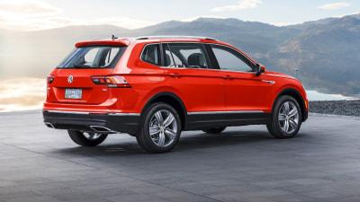Seven Seat Volkswagen Tiguan Revealed In Detroit