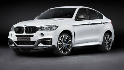 2015 BMW X6 Gets New M Performance Accessories