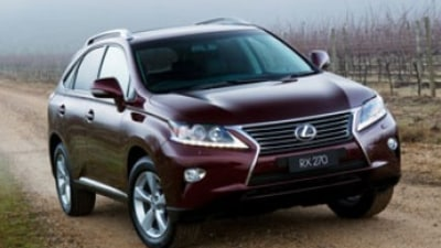First drive review: Lexus RX