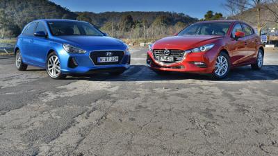 Small Hatch Match-Up – Hyundai i30 Active v Mazda3 Neo Comparison Review