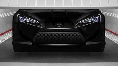Toyota FT-86 II Pre-Production Concept Teased
