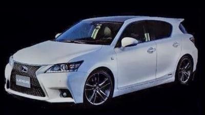 2014 Lexus CT 200h Facelift Surfaces