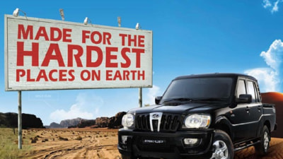 Mahindra Pik-Up Gets Its First TV Commercial: Video