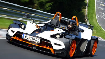 2011 KTM X-Bow R Boosted With Audi S3 Engine