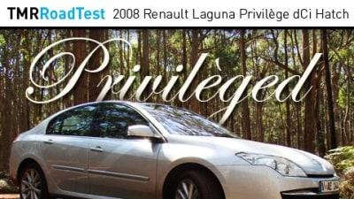 2008 Renault Laguna Privilege dCi Hatch Road Test Review