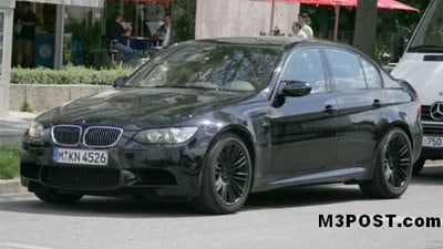 M3 Sedan spotted prior to Frankfurt Motor Show debut