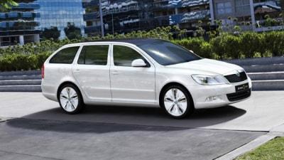 Skoda Octavia Green E Line Electric Vehicle Concept Revealed