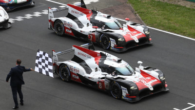 Toyota takes dominant victory at Le Mans