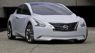 Nissan Ellure Hybrid Concept At LA Auto Show
