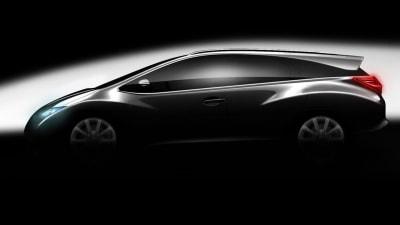 Honda Teases Euro Civic-based Wagon