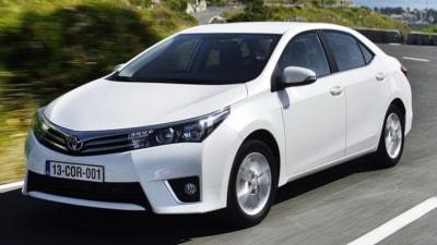 2014 Toyota Corolla Sedan Detailed Ahead Of Australian Debut