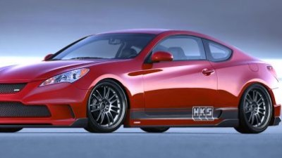 HKS Tuned Hyundai Genesis Coupe Appears At SEMA