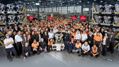 Holden Builds One Millionth 'High-Feature' V6 In Port Melbourne