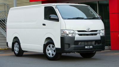2014 Toyota HiAce: Price And Features For Updated Load Carrier