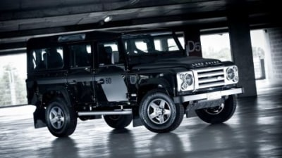 2009 Defender 110 60th Anniversary SVX Limited Edition Arrives In Australia