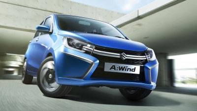 2014 Suzuki Alto Previewed As A:Wind Concept Debuts In Thailand