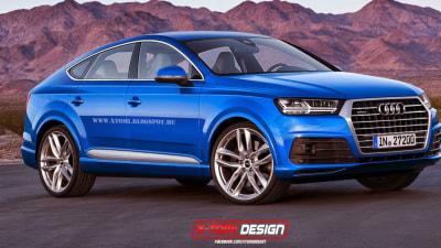 Audi Q8 Rendered, Based On New Q7 SUV