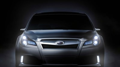 Subaru Legacy Concept To Be Unveiled At Detroit
