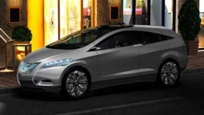 Hyundai i-Blue Fuel Cell Electric Vehicle Concept