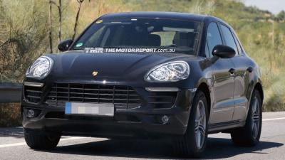 Porsche Macan SUV Cuts Camouflage In New Spy Photos