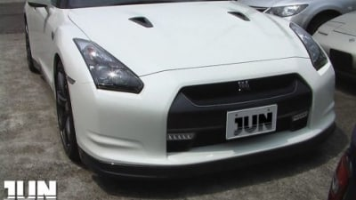 JUN Developing R35 GT-R Engine Components