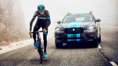 Jaguar F-Pace SUV To Serve As Support Vehicle At Tour De France