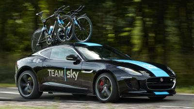 Jaguar F-TYPE Gets SVO Upgrade For Team Sky's Tour De France: Video
