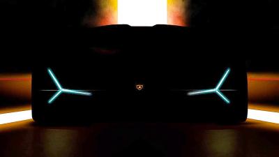 Lamborghini teases new concept for Frankfurt