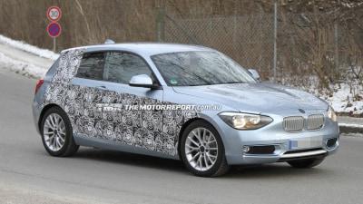 2012 BMW 1 Series Three-door Spied Testing