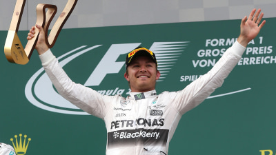 2015 Austrian F1 GP: Nico Rosberg Storms To Victory At The Red Bull Ring