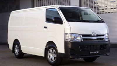 2011 Toyota HiAce Update Brings Power Increase, Improved Safety And Styling Tweaks