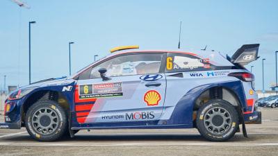 World Rally Championship going hybrid in 2022
