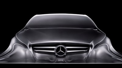 Mercedes-Benz 'Rising Car' Sculpture Hints At Future Styling Cues