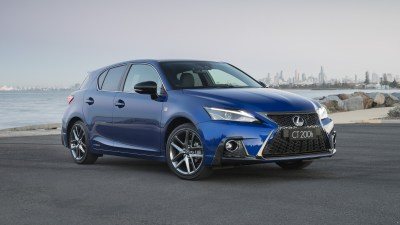 Updated Lexus CT200h revealed
