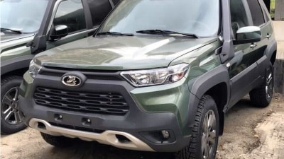 2021 Lada Niva leaked, channeling its outer Toyota RAV4