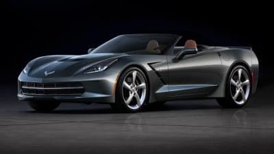 Corvette Stingray Convertible Surfaces